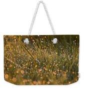 Golden Dew Drops Weekender Tote Bag