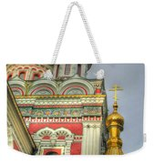 Golden Domes Of Russian Church Weekender Tote Bag