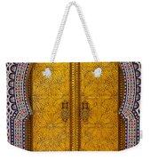Golden Door Weekender Tote Bag