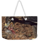 Golden Eagle Eats Weekender Tote Bag