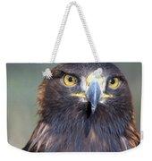 Golden Eagle Lookin' At You Weekender Tote Bag