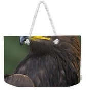 Golden Eagle Portrait Threatened Species Wildlife Rescue Weekender Tote Bag