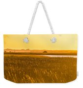 Golden End Of Day  Weekender Tote Bag