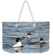 Golden-eyed Ducks Weekender Tote Bag