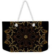 Golden Flower Of The Night Weekender Tote Bag