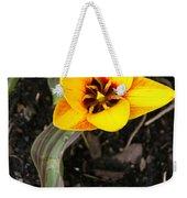 Golden Flower Weekender Tote Bag
