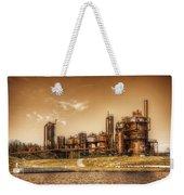 Golden Gas Works Weekender Tote Bag