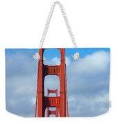 Golden Gate Bridge Weekender Tote Bag by Adam Romanowicz