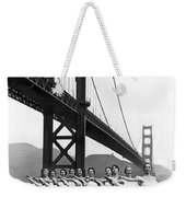 Golden Gate Bridge Ballet Weekender Tote Bag