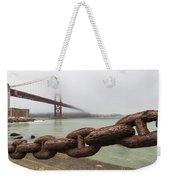 Golden Gate Bridge Chain Weekender Tote Bag