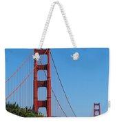 Golden Gate Bridge In Spring Weekender Tote Bag