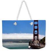 Golden Gate Bridge Looking South Weekender Tote Bag
