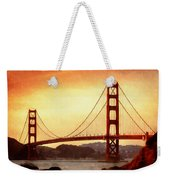 Golden Gate Bridge San Francisco California Weekender Tote Bag
