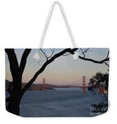 Golden Gate Bridge - San Francisco California Weekender Tote Bag