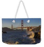 Golden Gate Bridge Sunset Study 2 Weekender Tote Bag