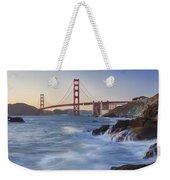 Golden Gate Bridge Sunset Study 5 Weekender Tote Bag