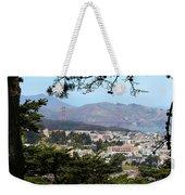 Golden Gate From Buena Vista Park Weekender Tote Bag