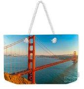 Golden Gate - San Francisco Weekender Tote Bag