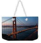 Golden Gate Sunrise Weekender Tote Bag
