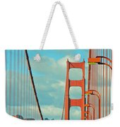Golden Gate Walkway Weekender Tote Bag