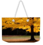 Golden Glow Of Autumn Fall Colors Weekender Tote Bag