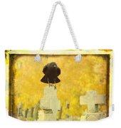 Golden Gothic Weekender Tote Bag