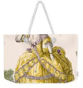 Golden Gown, Engraved By Dupin, Plate Weekender Tote Bag