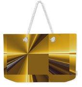Golden Graphic Weekender Tote Bag