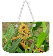 Golden Grasshopper Weekender Tote Bag