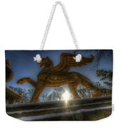 Golden Griffin Weekender Tote Bag