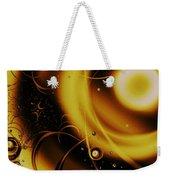 Golden Halo Weekender Tote Bag by Anastasiya Malakhova