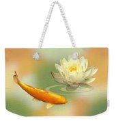 Golden Harmony Dreamscape Weekender Tote Bag