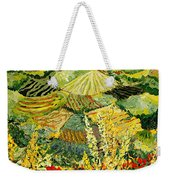 Golden Hedge Weekender Tote Bag