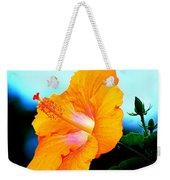Golden Hibiscus Weekender Tote Bag