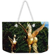 Golden Horses Weekender Tote Bag