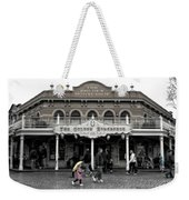 Golden Horseshoe Frontierland Disneyland Sc Weekender Tote Bag