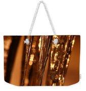 Golden Ice Weekender Tote Bag