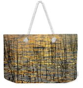 Golden Lake Ripples Weekender Tote Bag by James BO  Insogna
