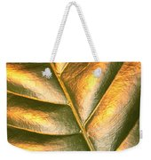 Golden Leaf 2 Weekender Tote Bag