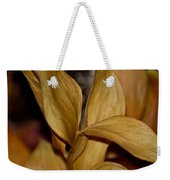 Golden Leafed Abstract 2013 Weekender Tote Bag