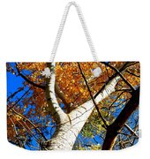 Golden Leaves II Weekender Tote Bag