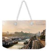 Golden Lights Weekender Tote Bag