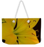 Golden Lily Glow Weekender Tote Bag
