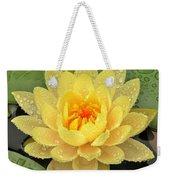 Golden Lily Weekender Tote Bag