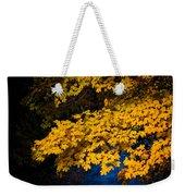 Golden Maples Weekender Tote Bag