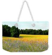 Golden Meadow Weekender Tote Bag