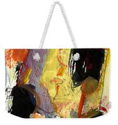 Golden Moon Weekender Tote Bag