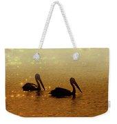 Golden Morning Weekender Tote Bag