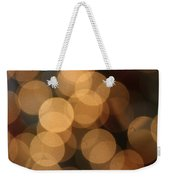 Golden Orbs Weekender Tote Bag