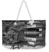 Golden Pagoda In Kyoto Japan Weekender Tote Bag by David Smith